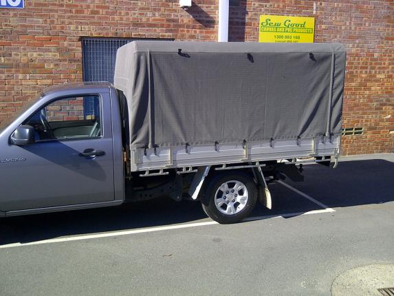 Mazda BT 50 canvas ute canopy